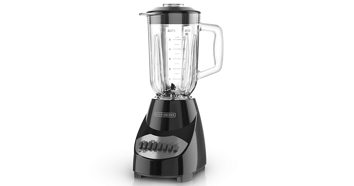 BLACKDECKER BL2010BG Black Countertop Blender image