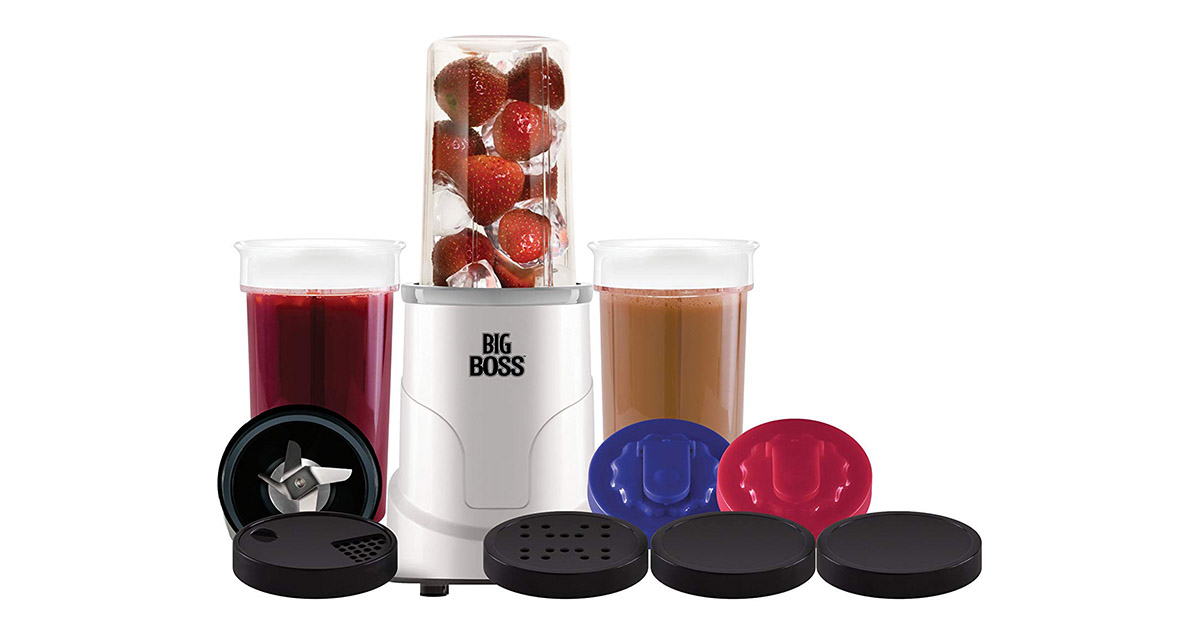 Big Boss 8145 15 Piece Hi Speed 300 Watt Personal Countertop Blender image