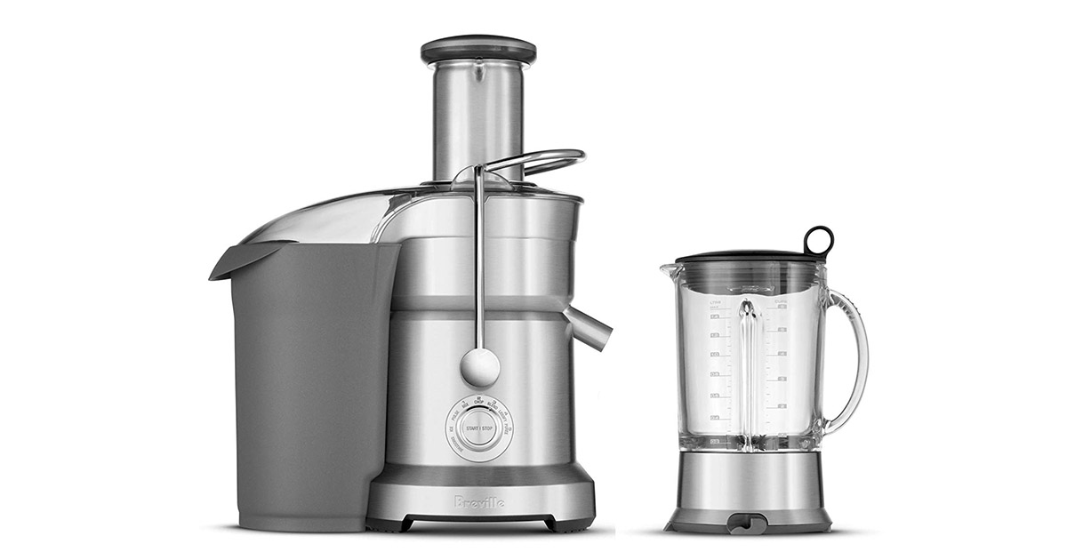 Breville BJB840XL Juice and Blend Dual Purpose Juicer and Blender image