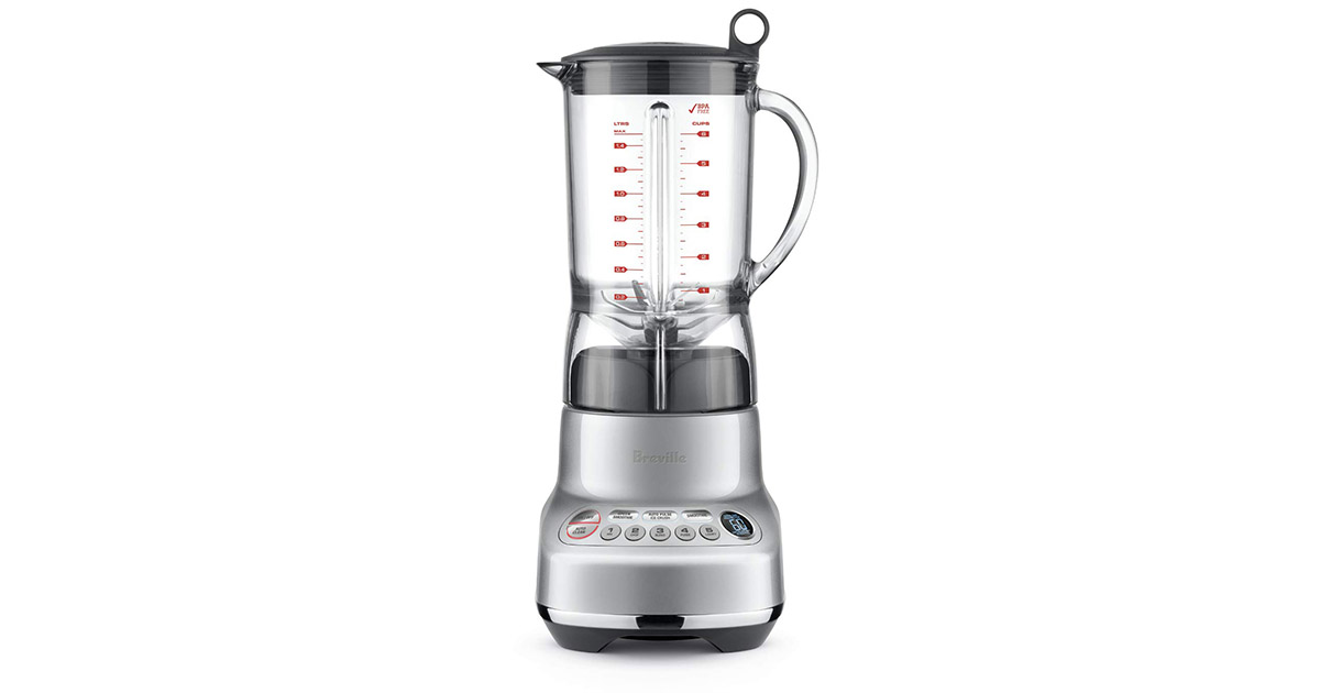 Breville The Fresh and Furious Silver 50 Ounce Blender image