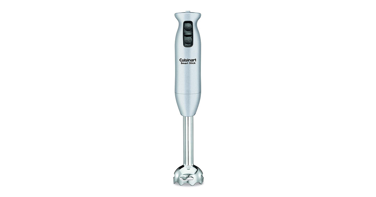 Cuisinart CSB 75BC Smart Stick 200 Watt 2 Speed Brushed Chrome Hand Blender image