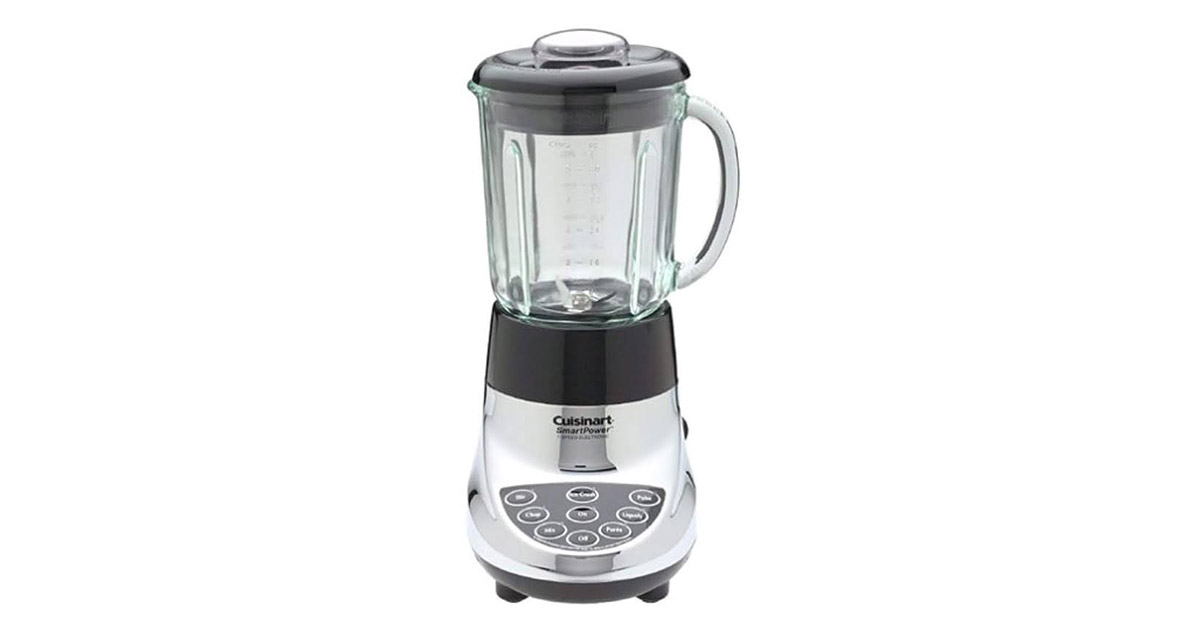 Cuisinart SPB-7CH SmartPower 40 Ounce 7 Speed Electronic Bar Chrome Blender image