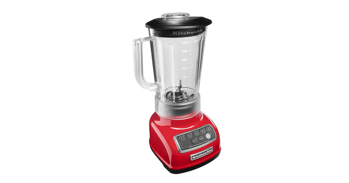 KitchenAid KSB1570ER 5 Speed Empire Red Blender image