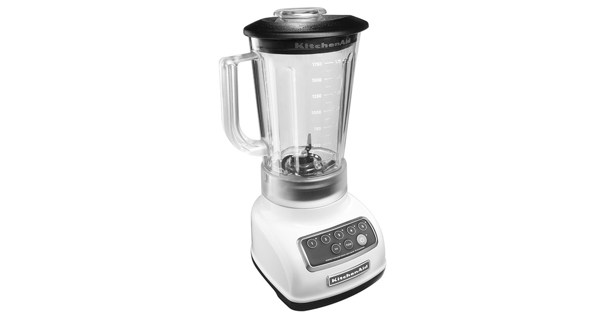 KitchenAid KSB1570WH 5 Speed 56 Ounce White Blender image