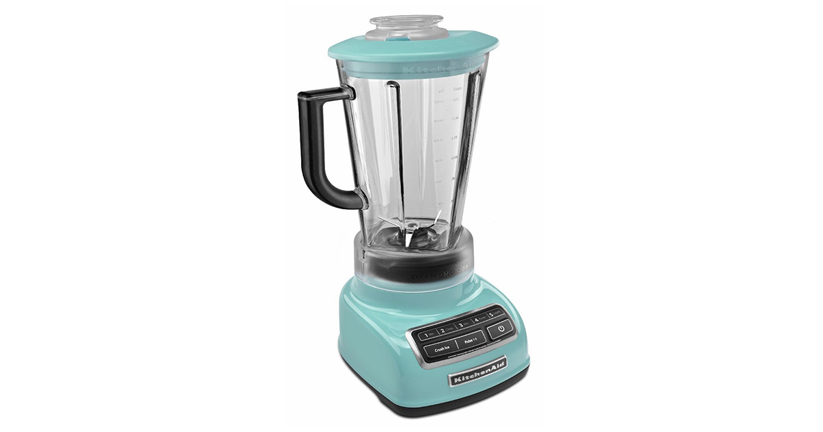 KitchenAid KSB1575AQ Aqua Sky 5 Speed 60 Ounce Diamond Blender image