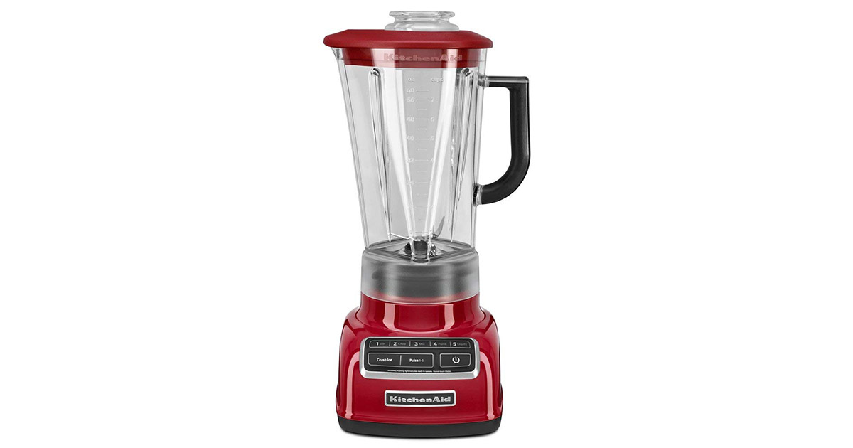 KitchenAid KSB1575ER 5 Speed Diamond Empire Red Blender image