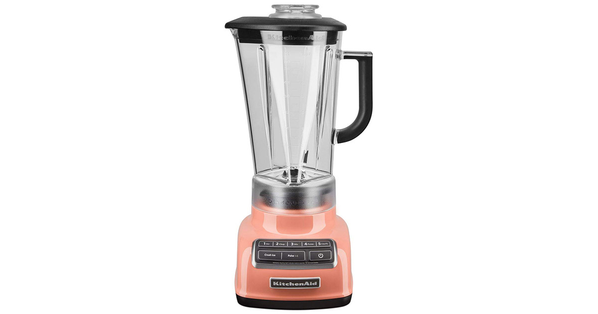 KitchenAid KSB1575PH 5 Speed Diamond Countertop 60 ounce blender image