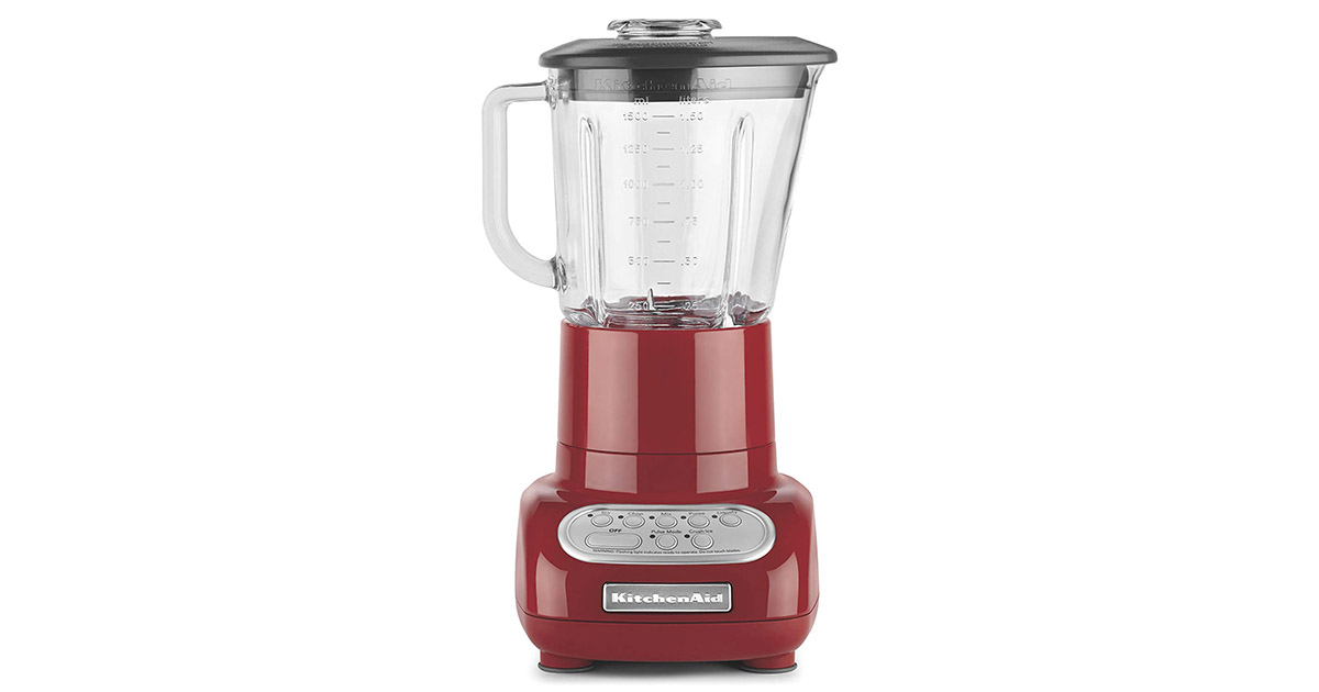 KitchenAid KSB565ER 5 Speed Empire Red Blender image