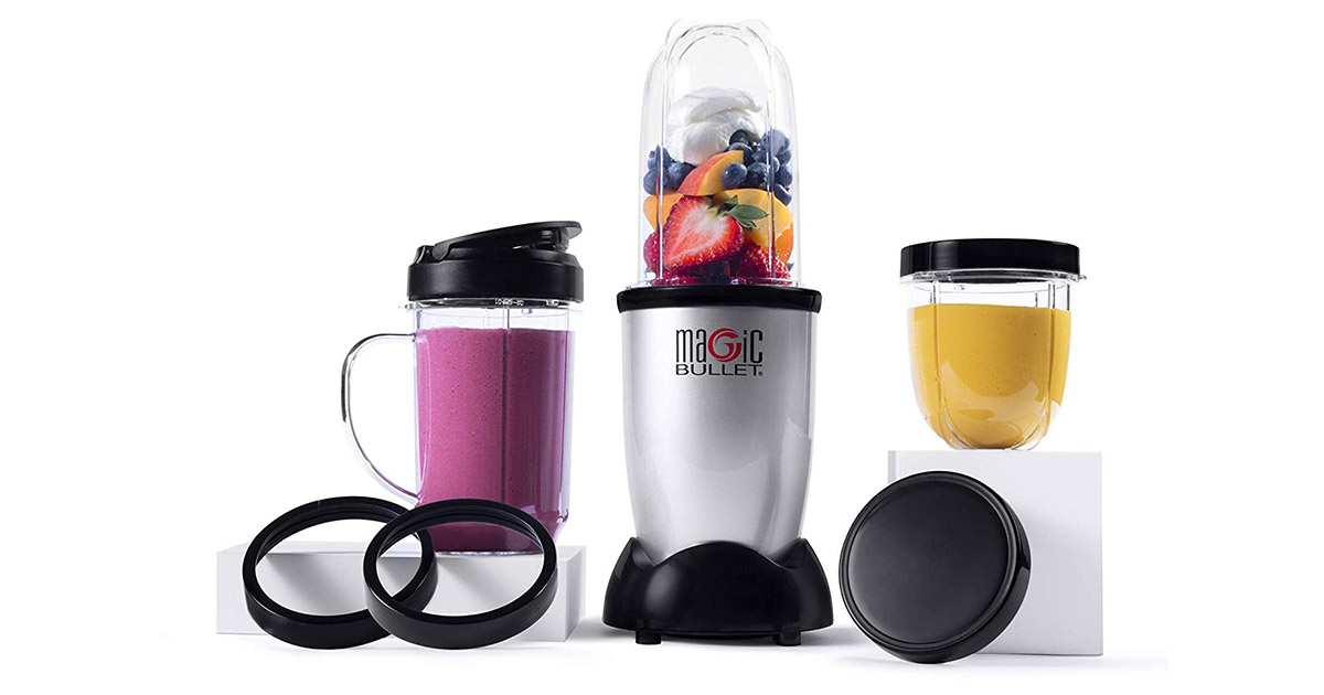 Magic Bullet MBR-1101 Silver Blender image