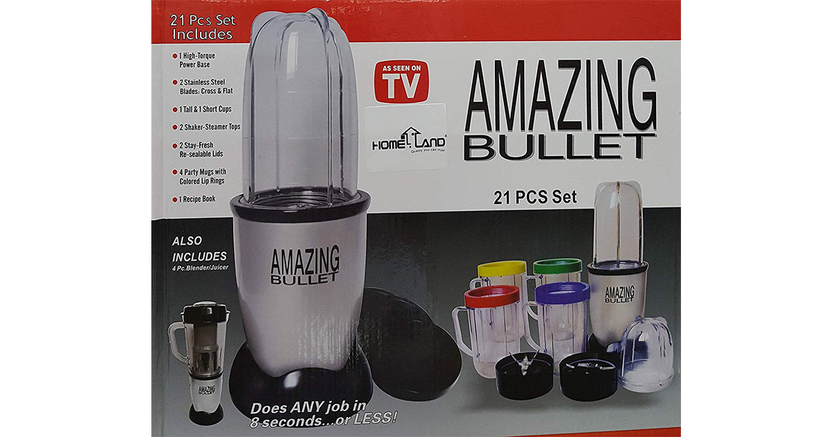 Magic Bullet mb bx065b-09 Deluxe 25 pc Set Blender Mixer image