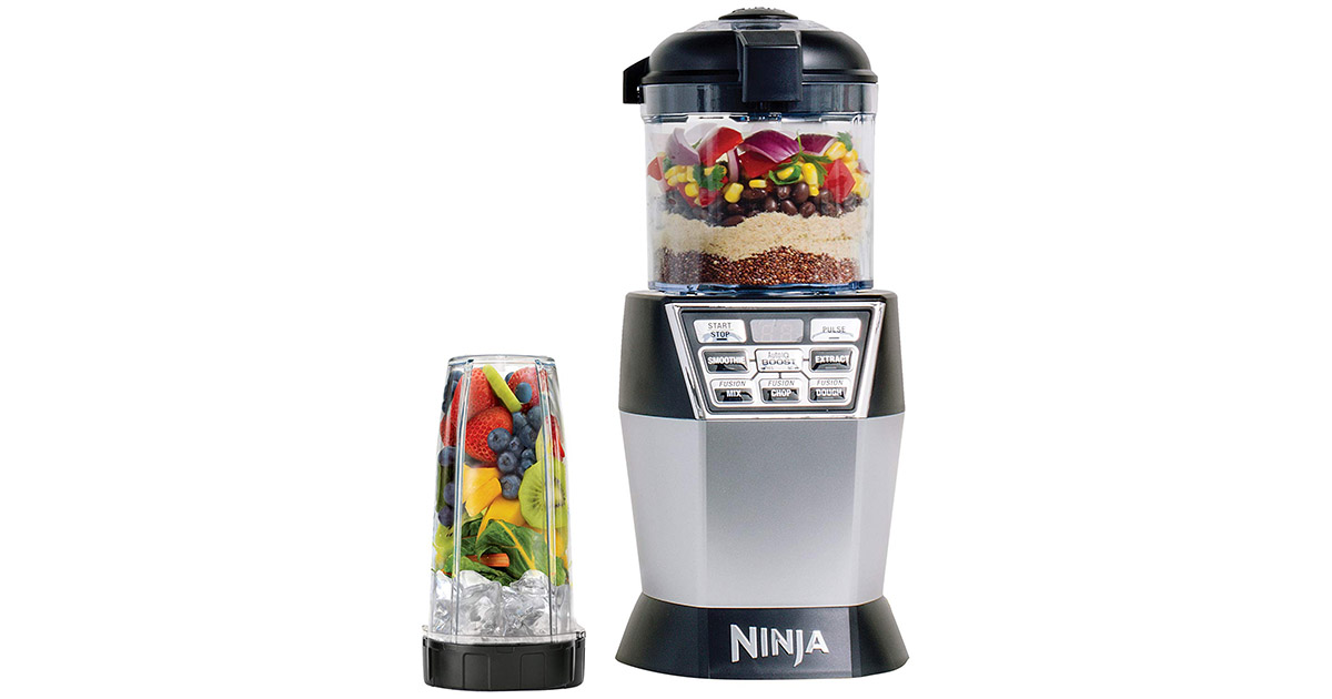 Ninja NN102 Nutri Bowl Duo Black Blender image
