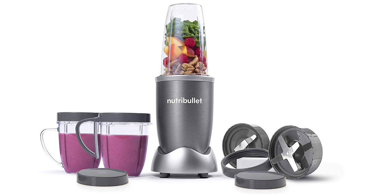 NutriBullet NBR-1201 12-Piece High Speed Blender image