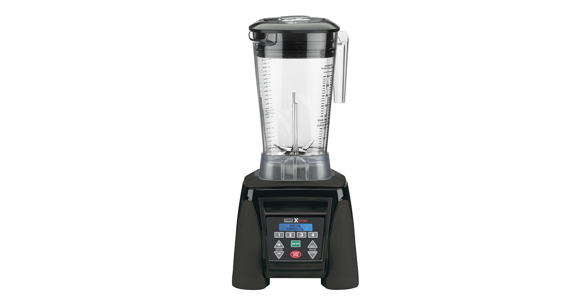Waring Commercial MX1300XTX Xtreme Reprogrammable 64-Ounce Hi Power Blender image