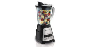 Hamilton Beach 58148A Power Elite Electric Black and Stainless Blender image